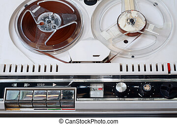 old tape recorder