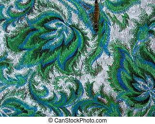 Old Tapestry - piece of old matherial, pattern