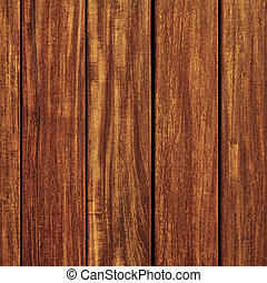 Old teak wood wall background square format
