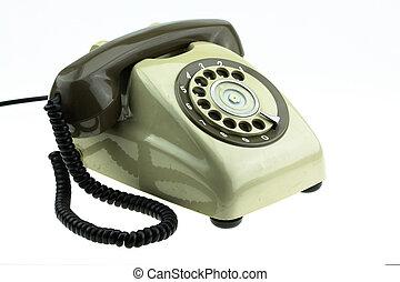 Old telephone or vintage telephone