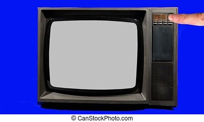 Old Television,  Turning Channels.