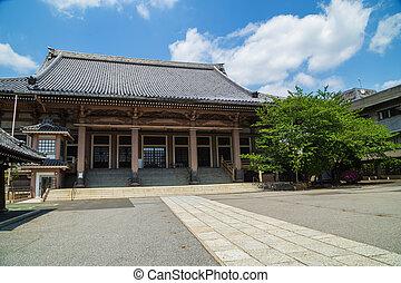 temple at Asakusa, Tokyo, Japan