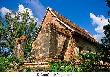 Old temple of Thailand