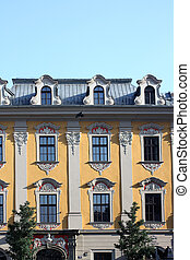 Old tenement house in Cracow