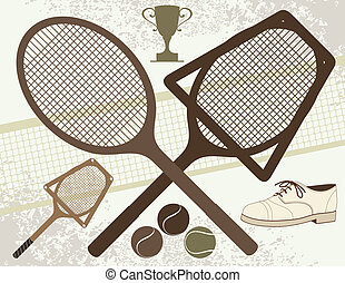 Old Tennis Elements