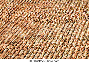 Old Terracotta Roof