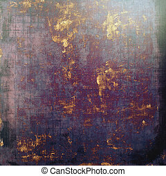 Old Texture. With different color patterns: brown; black; purple (violet); blue