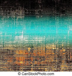 Old Texture. With different color patterns: yellow (beige); brown; blue; black
