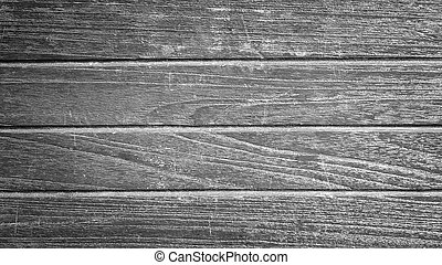 old texture wooden background black and white