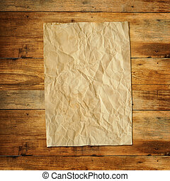 Old textured recycled paper