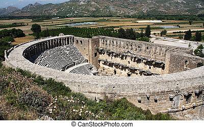 Old theater Aspendos