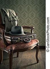 Old timey businessman