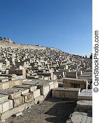 Old tombs in Jerusalem