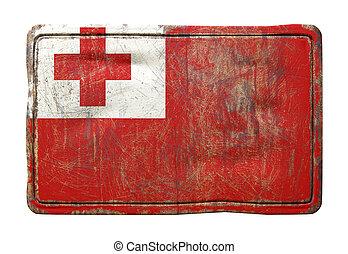 Old Tonga flag