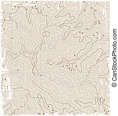 Old Topographic Map