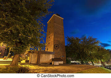 Old tower in Frombork. Frombork, Warmian-Masurian, Poland.