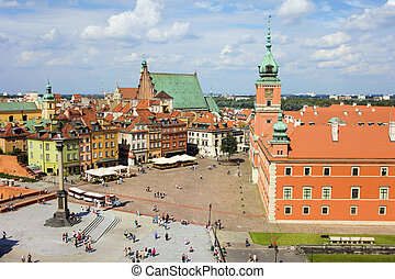 Old Town and Royal Castle - Old Town (Polish: Stare Miasto,...