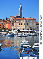 Old town architecture of Rovinj