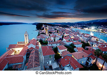 Old Town Cityscape - An old fortified town in South Eastern ...