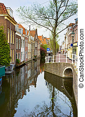 old town, Delft, Holland