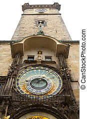 Old Town Hall and Astronomical Clock, Prague, Czech Republic