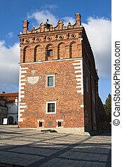 Old town hall in Sandomierz