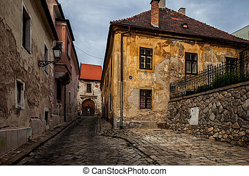 Old Town Houses of Bratislava in Slovakia