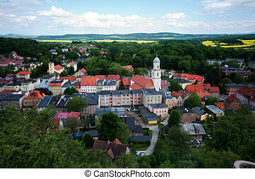 Old town in Poland, Bolkow