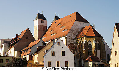 Old town in Saxony