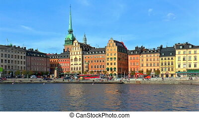 Old Town in Stockholm, Sweden