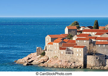 Old town island, Montenegro