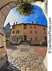 Old town of Annecy in Provence - Charming old town of Annecy...