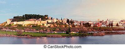 Old town of Badajoz city, Extremadura, Spain