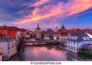 Old Town of Bamberg, Bavaria, Germany