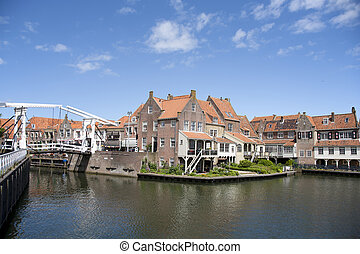 Enkhuizen - Old town of Enkhuizen in the Netherlands