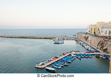 Old Town of Gallipoli on southern coast of Italy