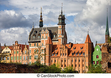 Old Town of Gdansk in Poland