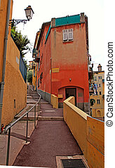Old town of Nice, Cote d'Azur, France
