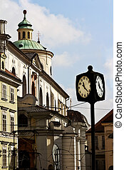 Clock on the square in Prague