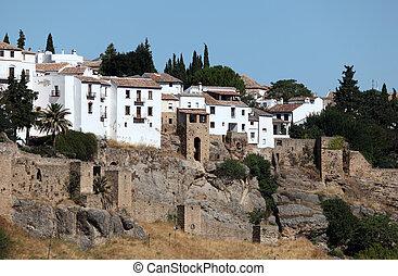 Old town of Ronda, Andalusia Spain