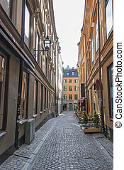 Old Town of Stockholm Sweden