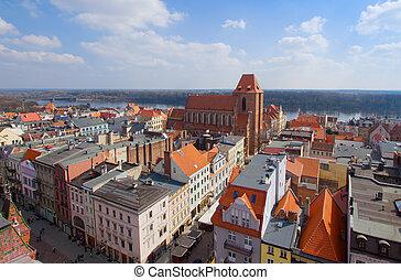 old town of Torun, Poland