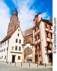 church of st Elisabeth, old town, Wroclaw, Poland