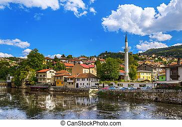Old town Sarajevo - Bosnia and Herzegovina - architecture...