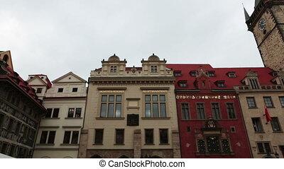Old Town Square in Prague, Czech Republic