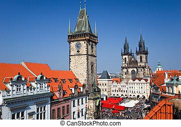Old Town Square, Prague, Czech Republic, 2009