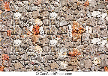 old town wall seamless vertical and horizontal seamless pattern