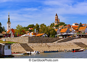 Old town Zemun - Belgrade Serbia - architecture travel...
