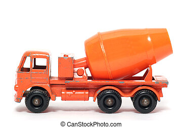 Old toy Cement Mixer