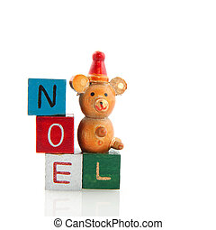 old toy wtith noel